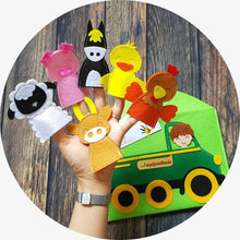 Load image into Gallery viewer, Old McDonald Finger puppets
