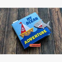 Load image into Gallery viewer, My Ocean adventure Busy book