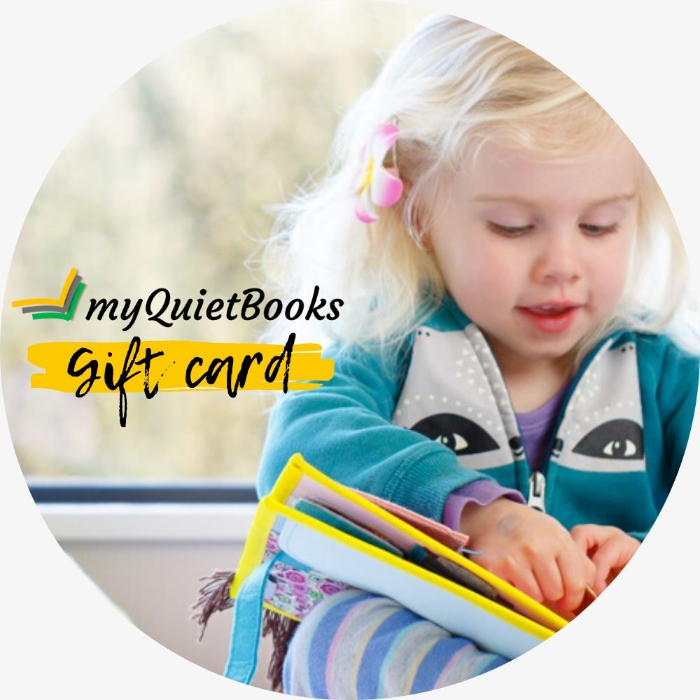 My Quiet Books Gift Card