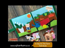 Load and play video in Gallery viewer, A day at the Farm Busy book