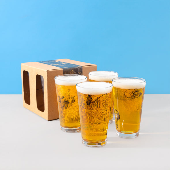 Voodoo Ranger Pint Glass 4-Pack