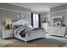 Load image into Gallery viewer, Heron Cove Complete Panel Bed With Storage Rails