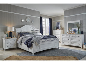 Heron Cove Complete Panel Bed With Storage Rails