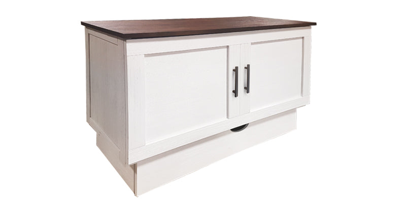Cape Cod – White/Acacia Sleep Chest