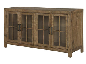 Willoughby D4209-04: Buffet Curio Cabinet