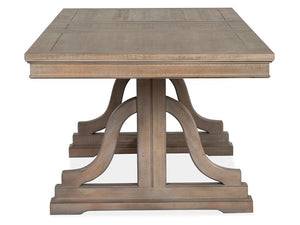 Paxton Place D4805-25: Trestle Dining Table