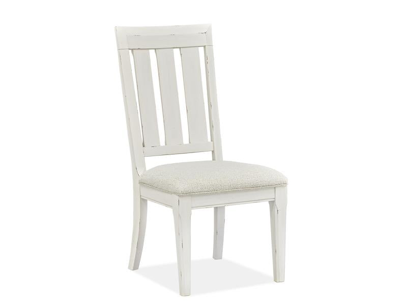 Hutcheson D5164-62: Dining Side Chair w/Upholstered Seat (2/ctn)