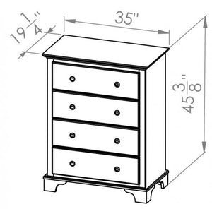 Georgian Bay 3 Drawer Chest