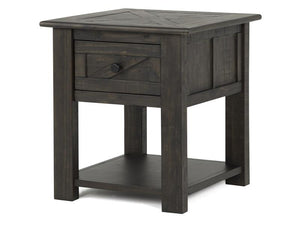 Garrett T3778-03: Rectangular End Table