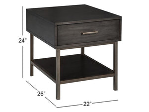 Fulton T4574-03: Rectangular End Table