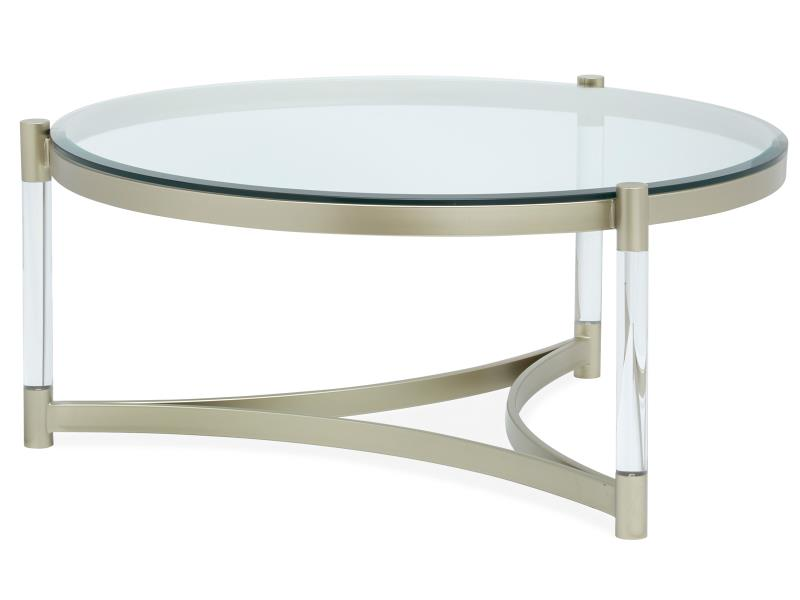 Silas T4984-45: Round Cocktail Table