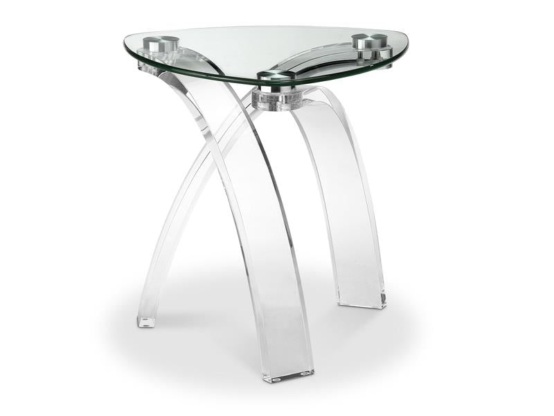 Cassius T5057-25: Pie Shaped End Table