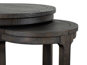 Boswell T5263-12: Round Nesting End Table