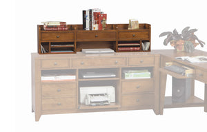 "Topaz Cinnamon 55"" Desk Hutch D2-GT260H-O"