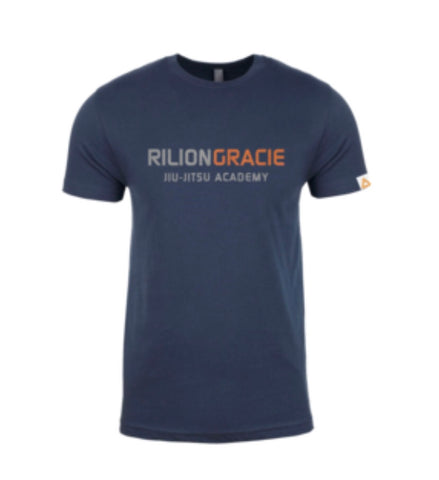 Gracie Elite Competition tee Blue