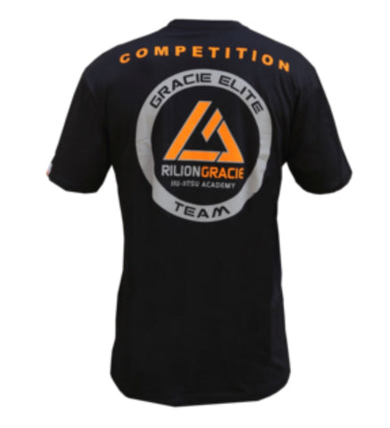 Gracie Elite Competition tee Black