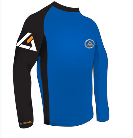 Ranked Rashguards - Blue