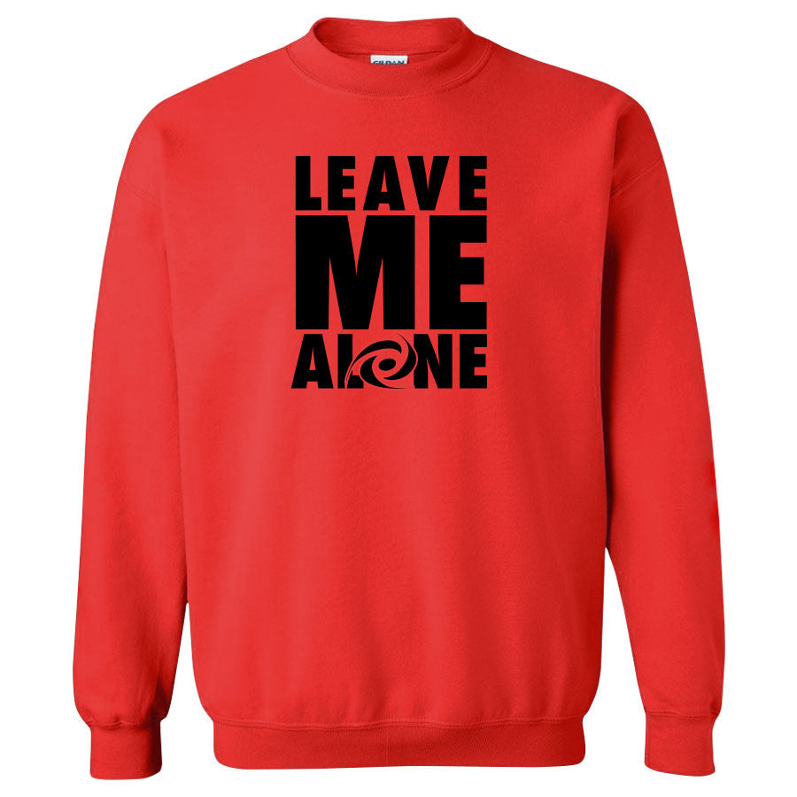 Gamma Labs LMA Crewneck - Blk on Red