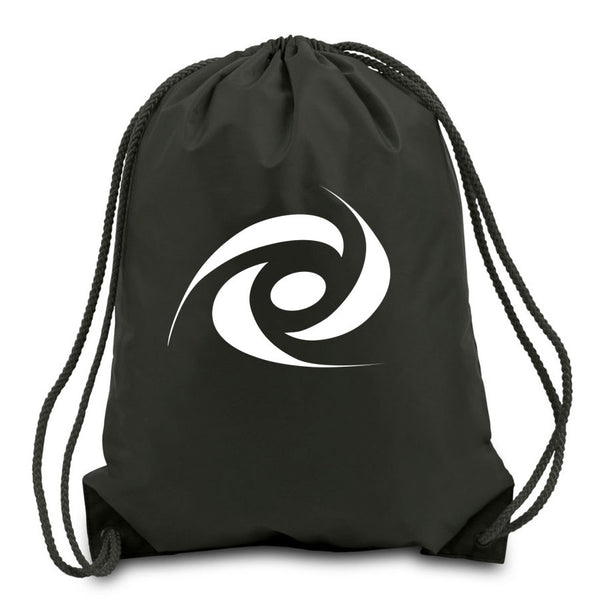 Gamma Labs Cinch Bag - White on Black