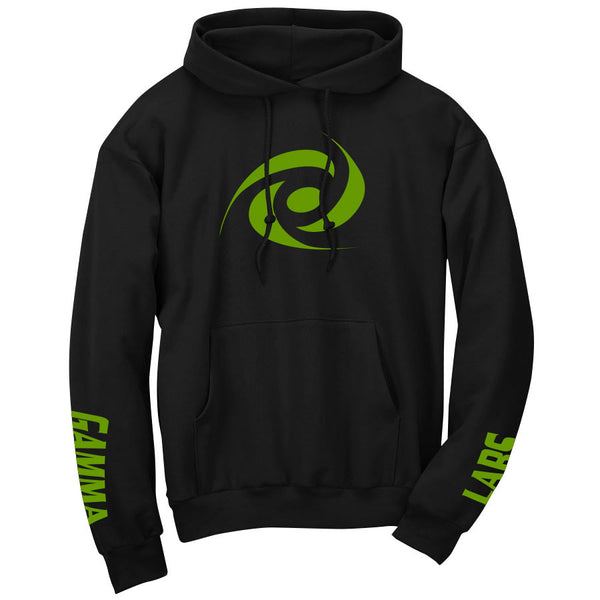 Gamma Labs Icon Hoodie - AGrn on Blk