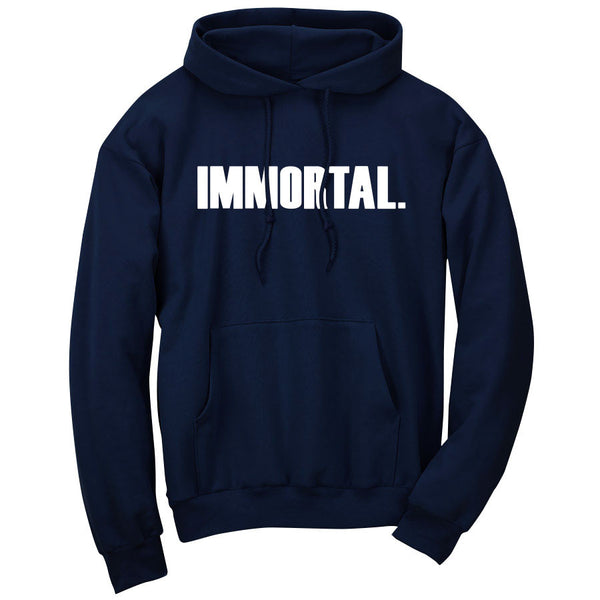Gamma Labs Immortal Hoodie - Wht on Nvy