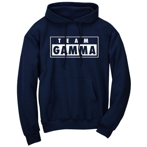 Gamma Labs Team Gamma Hoodie - Wht on Nvy