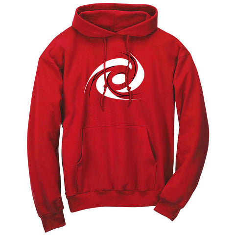 Gamma Labs Vortex Hoodie - BlkWht on Red