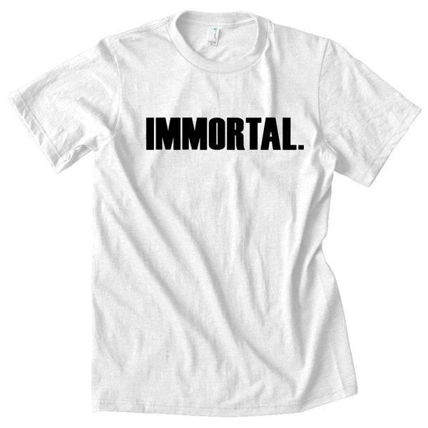 Gamma Labs Immortal Short Sleeve - Blk on Wht