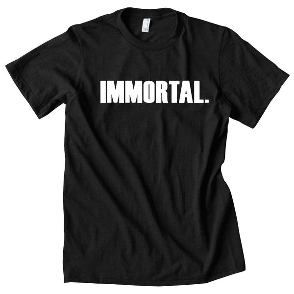 Gamma Labs Immortal Short Sleeve - Wht on Blk