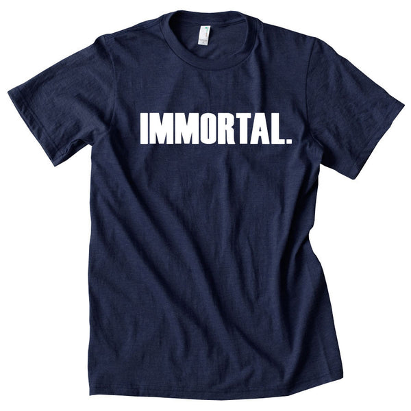 Gamma Labs Immortal Short Sleeve - Wht on Nvy