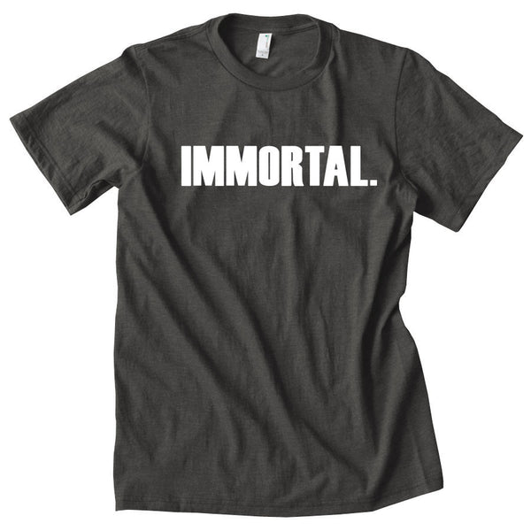 Gamma Labs Immortal Short Sleeve - Wht on Smk