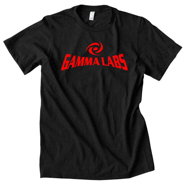 Gamma Labs Logo Short Sleeve - Red on Blk