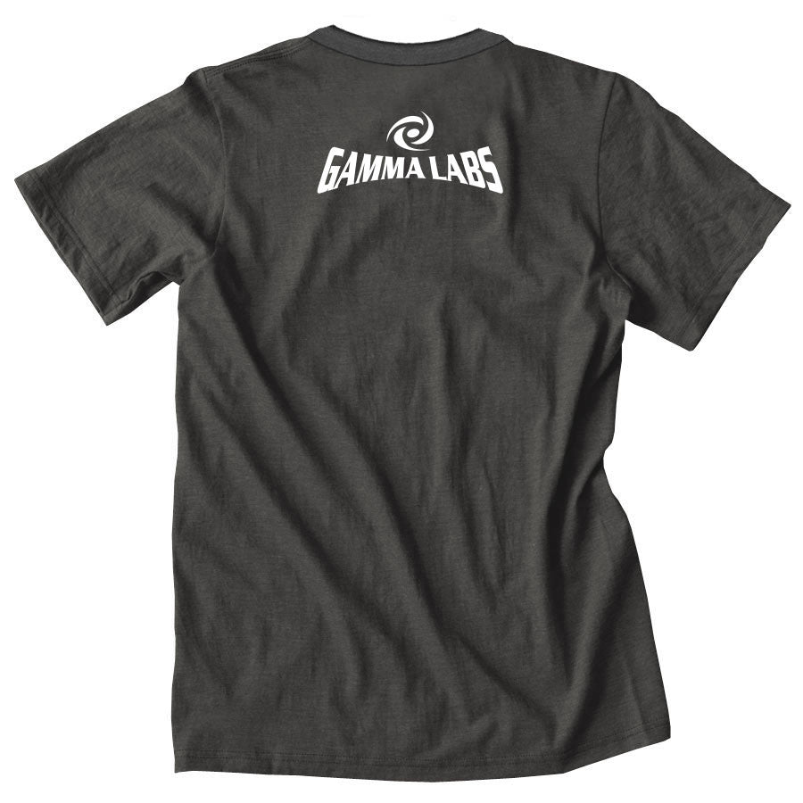 Gamma Labs Team Gamma Short Sleeve - Wht on Smk