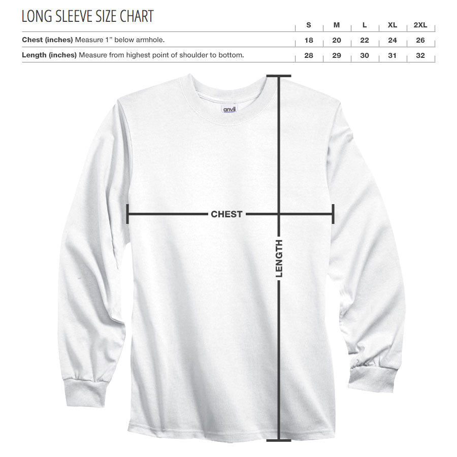 Gamma Labs Icon Long Sleeve - Org on Nvy