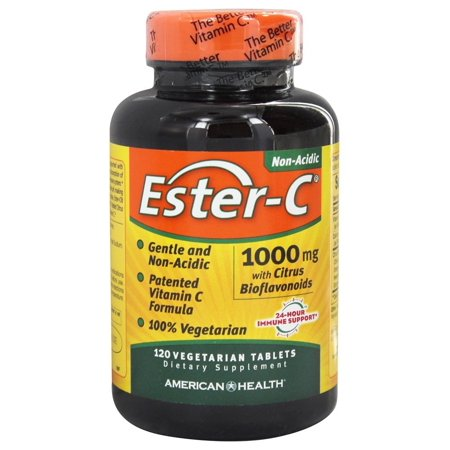 American Health Ester-C 1,000 mg 120 Vegetarian Tablets