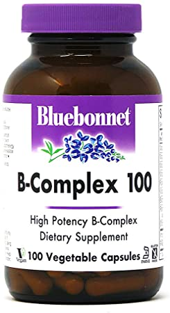 Bluebonnet B-Complex 100 Vegetable Capsules