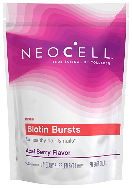 Neocell Biotin Bursts Acai Berry Flavor 30 Soft Chews