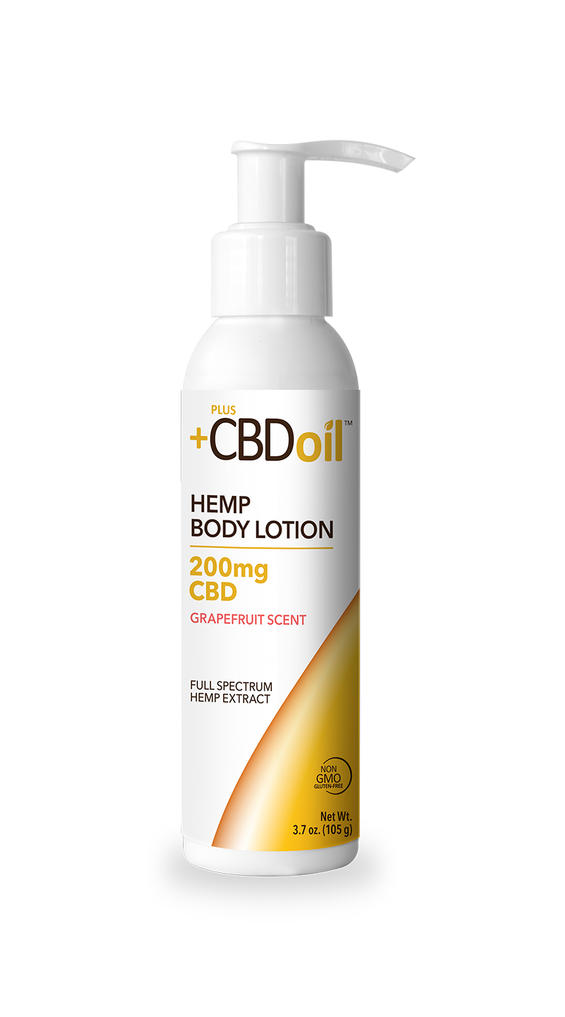 CV Sciences CBD Oil Hemp Body Lotion 200 mg Grapefruit Scent