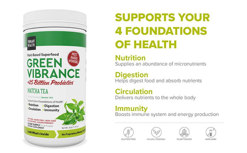 Vibrant Health Green Vibrance 25 day Supply