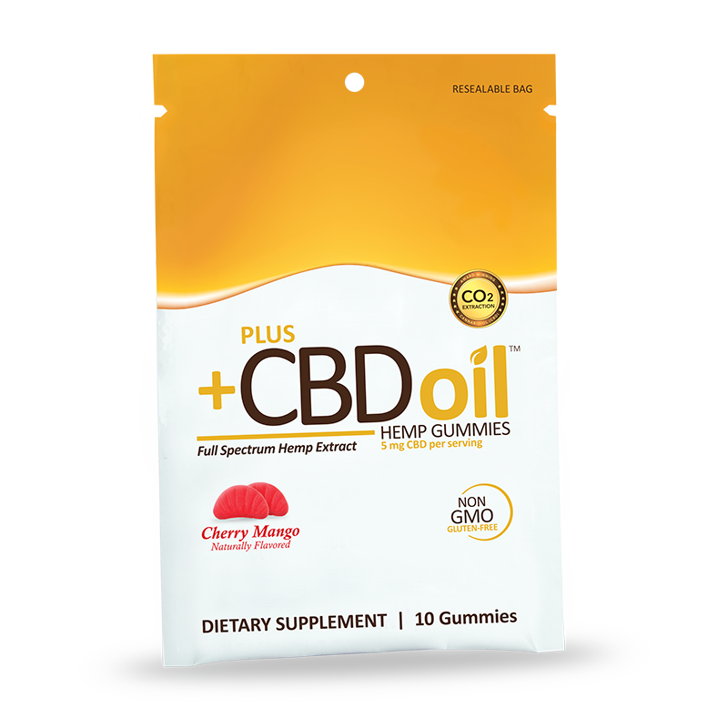 CV Sciences CBD Oil Cherry Mango Gummies 10 Gummies