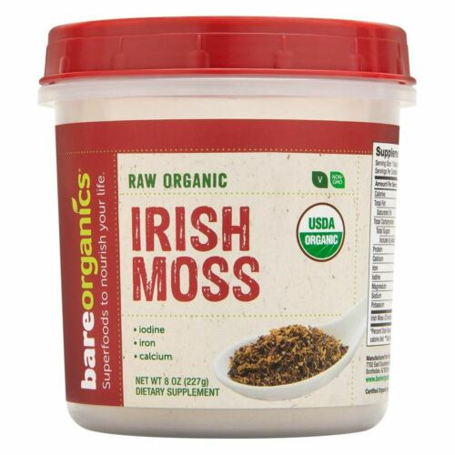 BareOrganics Raw Organic Irish Moss Powder