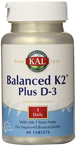 Kal Balanced K2 Plus D-3 60 Tablets
