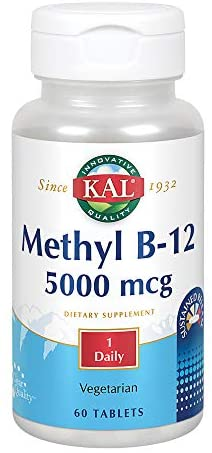 Kal Methyl B-12 5,000 mcg 60 Tablets