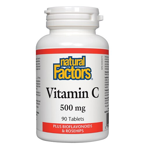 Natural Factors Vitamin C 500 mg 90 Tablets