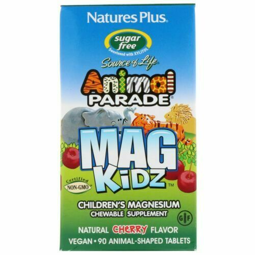 Natures Plus Parade Mag Kidz 90 Animal Shaped Tablets