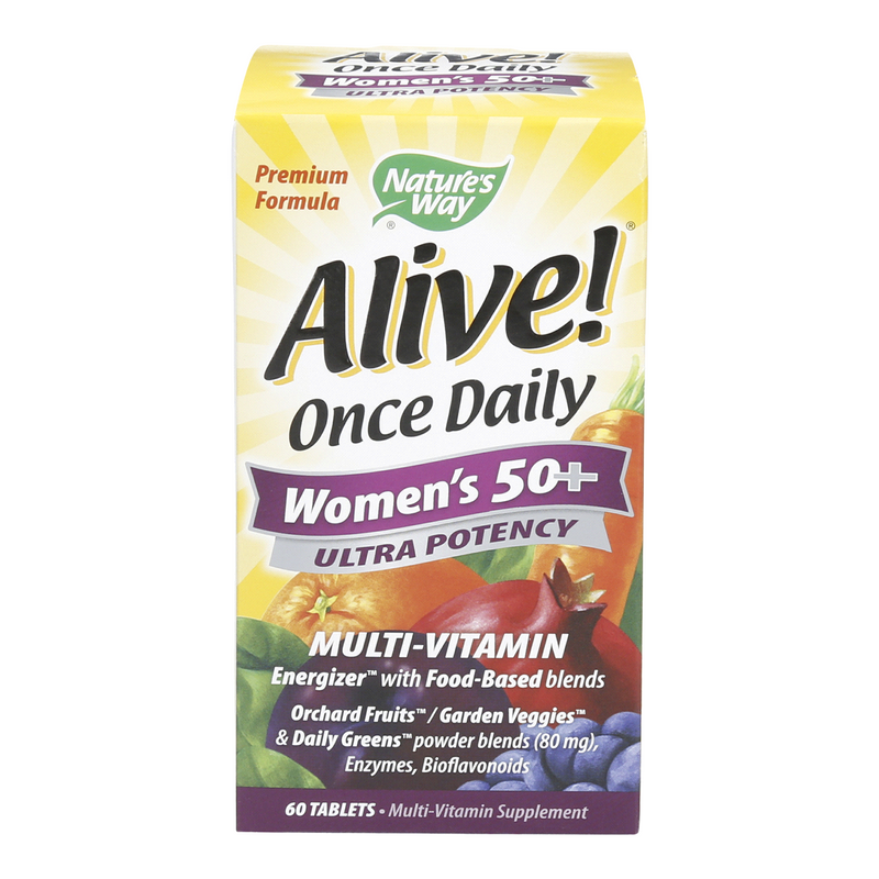 Natures Way Alive Once Daily Women's 50+ 60 Tablets