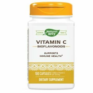 Natures Way Vitamin C Bioflavonoids 100 Caps