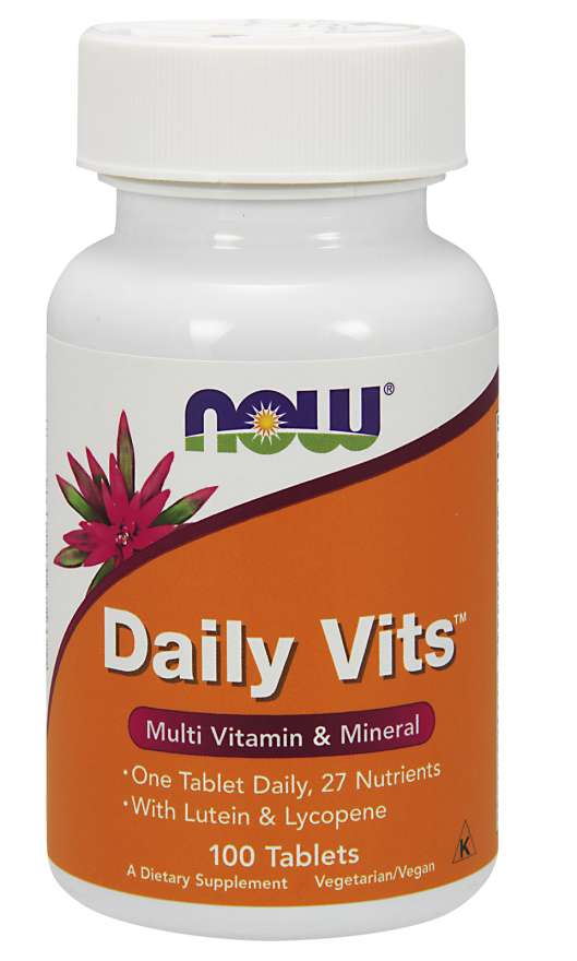 Now Daily Vits 100 Tablets
