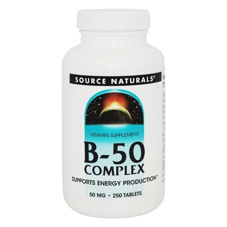 Source Naturals B-50 Complex 50 MG 250 Tablets