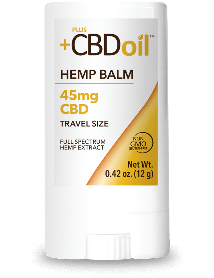 CV Sciences CBD Oil Hemp Balm 45 mg Travel Size
